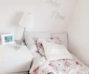 bed, inspiration, and room image