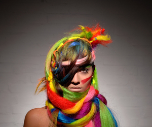 colour and hair image