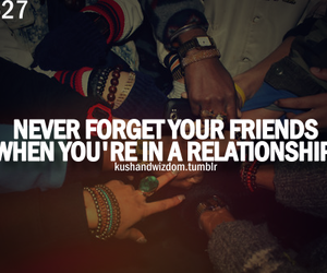 friends, quote, and Relationship image