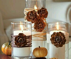 diy, autumn, and candles image