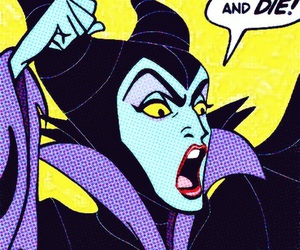 maleficent, die, and disney image