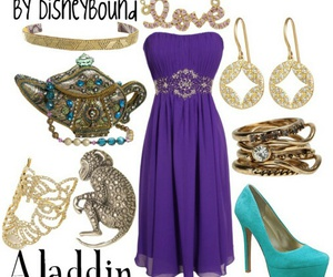 disney, outfit, and dress image