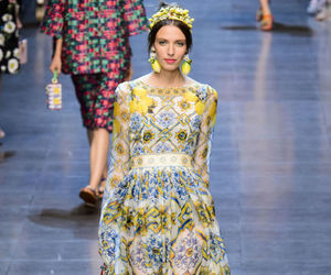 Dolce & Gabbana, fashion, and gown image