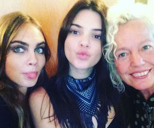kendall jenner, cake, and girls image