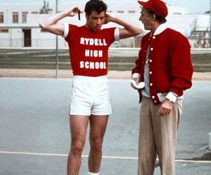 grease, John Travolta, and red image