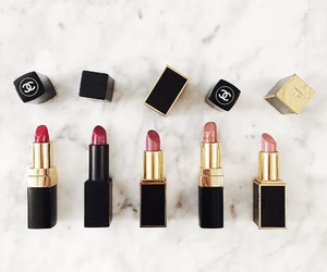 chanel, makeup, and lipstick image