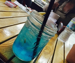 beautiful, blue, and drink image