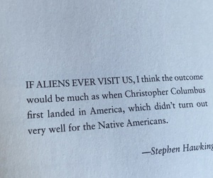 aliens, book, and quote image