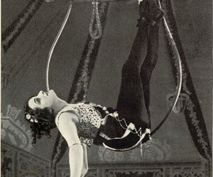 circus, trapeze, and vintage image