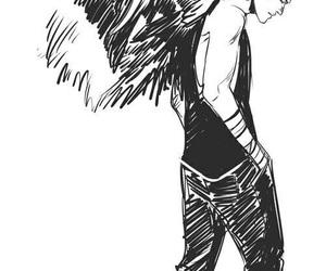 hush hush, angel, and patch image