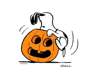Halloween and snoopy image
