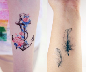 me, tattos, and cute image