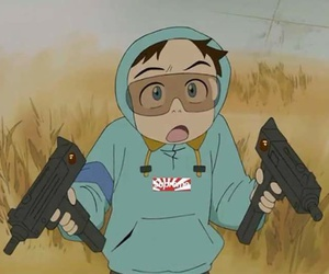 anime, fooly cooly, and flcl image