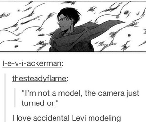 attack, on, and levi ackerman image