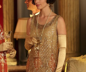 fashion, flapper, and downton abbey image