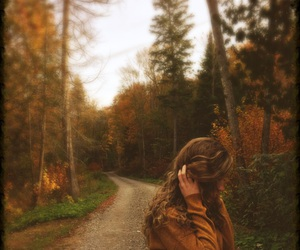 autumn, autumnal, and blond image