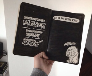 5sos, book, and wreck this journal image