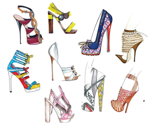 fashion, shoes, and design image
