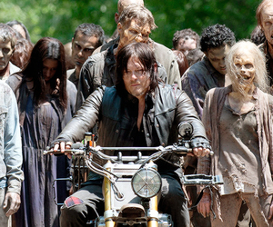 the walking dead, walkers, and daryl dixon image