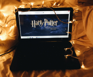 harry potter, light, and movie image