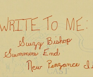 letters, wes anderson, and moonrise kingdom image
