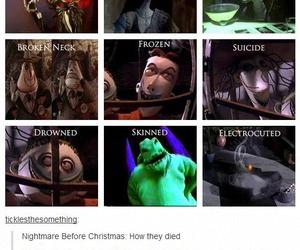 movie, nightmare before christmas, and sally image