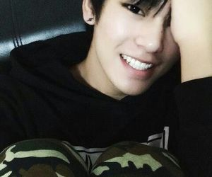 boy, asian, and smile image