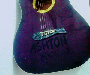 guitar, photography, and 5sos image