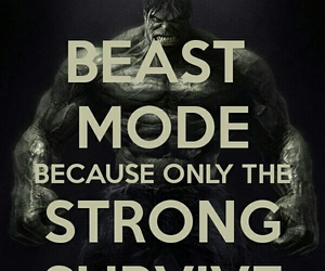 beast, fitness, and mode image