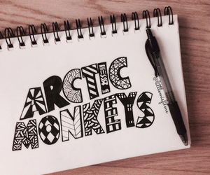 arctic monkeys, music, and draw image
