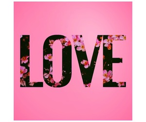 cool, pink, and love image