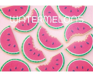 tumblr, frukt, and watermelons image