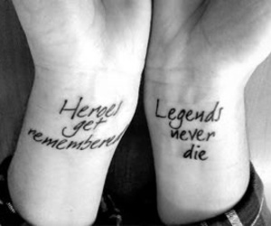 tattoo, legend, and hero image