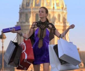 gossip girl, shopping, and blair waldorf image