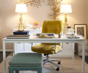 office, home, and decor image