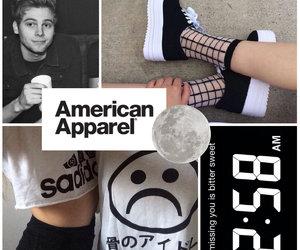 american apparel, grunge, and luke hemmings image