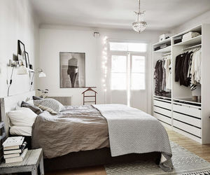 bedroom, interior, and relax image