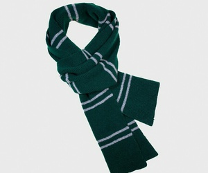 harry potter, scarf, and slytherin image