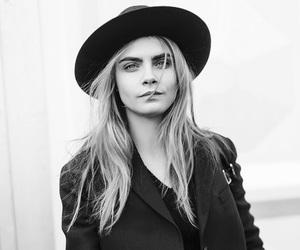 model, cara delevingne, and hat image
