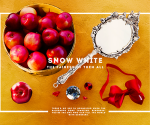 fairytale, fashion, and snow white image