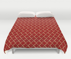 bedroom, moroccan, and duvet cover image