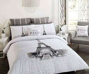 paris, bedroom, and bed image
