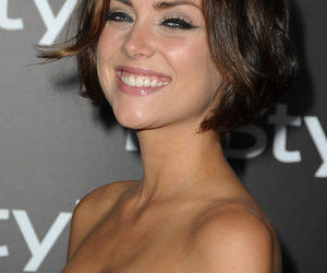 hair, make up, and Jessica Stroup image