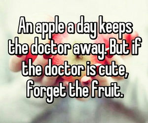 apple, cool, and doctor image