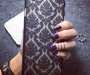 damask, phone case, and societyofchic image