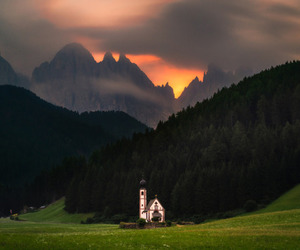 adventure, church, and winter image
