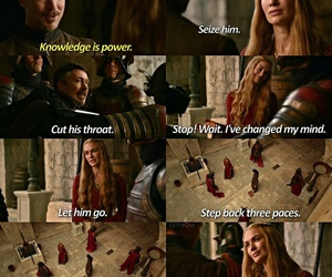 power, quote, and lannister image