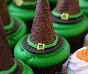 Halloween, cupcake, and cake image