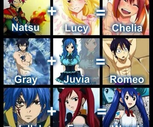 anime, jerza, and fairy tail image