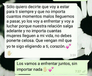 forever, frases en español, and whatsapp image